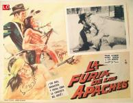 Western Movies - La Furie des Apaches / La Vengeance des Apaches (El Hombre de la diligencia / La Furia degli Apache) 1963 - Documents et Affiches