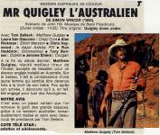 Western Movies - Monsieur Quigley l'Australien / Mr Quigley l'Australien (Quigley Down Under) 1990 - Documents et Affiches