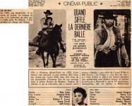 Western Movies - Quand siffle la dernière balle (Shoot Out) 1971 - Documents et Affiches