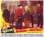 Western Movies - Les cavaliers du destin / Le Chevalier du destin / Le puit du destin (Riders of Destiny) 1933 - Documents et Affiches