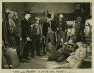 Western Movies - Law and Order / Guns A' Blazing 1932 - Documents et Affiches