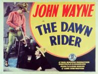 Western Movies - Le Cavalier de l'aube (The Dawn rider) 1935 - Documents et Affiches