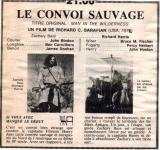 Western Movies - Le Convoi sauvage (Man in the wilderness) 1971 - Documents et Affiches