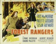Western Movies - La Fille de la forêt (The Forest Rangers) 1942 - Documents et Affiches