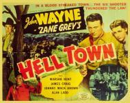 Western Movies - La Ville Du Diable (Hell Town / Born to the West) 1937 - Documents et Affiches