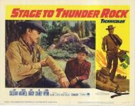 Western Movies - La Diligence partira à l'aube (Stage to Thunder Rock) 1964 - Documents et Affiches