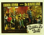 Western Movies - La piste de Santa Fe (Santa Fe Trail) 1940 - Documents et Affiches