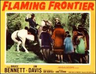 Western Movies - Flaming Frontier 1958 - Documents et Affiches