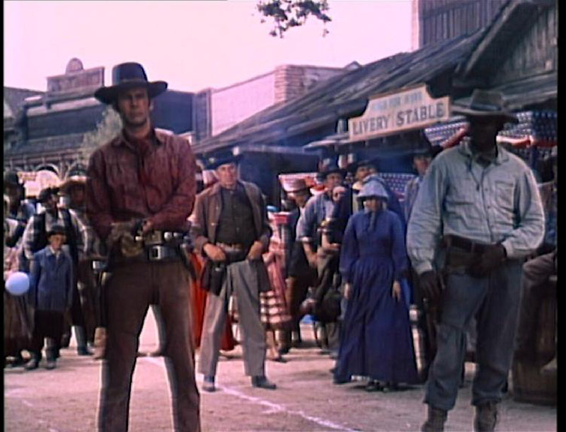 Test DVD - Les Bannis (The Outcasts) 1968 - Saison 1 - Volume 1 - Western Movies - DVD Z2 Elephant Films
