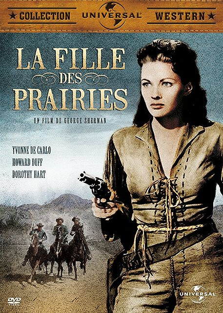 Test DVD - La fille des prairies (Calamity Jane and Sam Bass) 1949 - Western Movies - DVD Z2 Universal Pictures