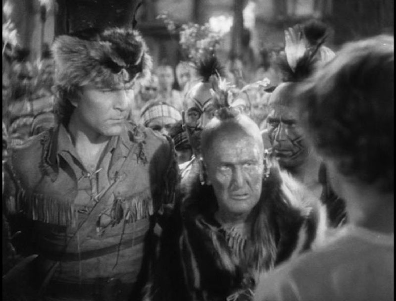 Test DVD - Le dernier des Mohicans (The Last of the Mohicans) 1936 - Western Movies - DVD Z2 ESC Editions - Movinside
